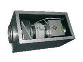 компактная приточная установка со снятой крышкой