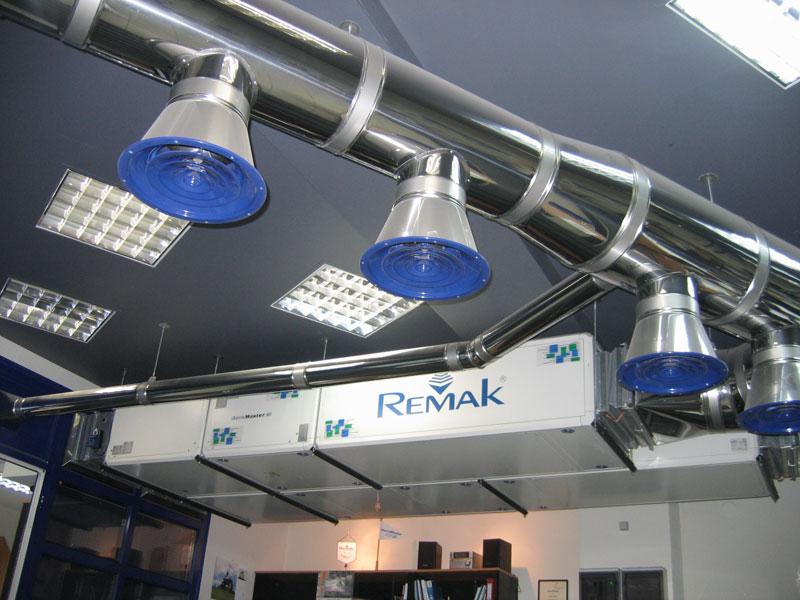 воздуховод общеобменной вытяжной вентиляции